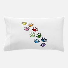 Paw Prints Pillow Case