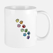 Paw Prints Mugs