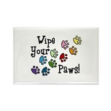 Wipe Your Paws Magnets