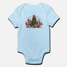 Cavalier King Charles Merry Christmas Body Suit