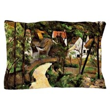 Cezanne - A Turn in the Road Pillow Case