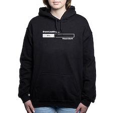 Brain Loading Computer Geek T-Shirt Women's Hooded