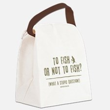 ToFish1.png Canvas Lunch Bag