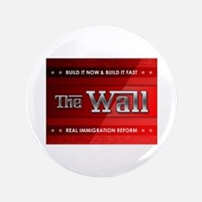 """Build The Wall 3.5"""" Button"""