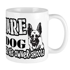 Beware of Dog Mugs