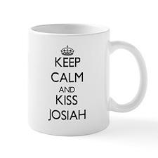Keep Calm and Kiss Josiah Mugs