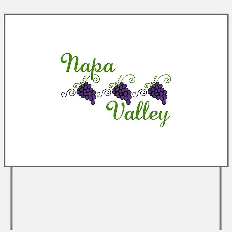 Napa Valley Yard Sign