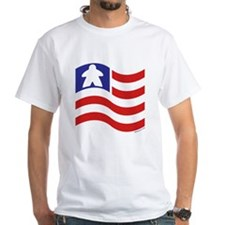 Meeple and Stripes T-Shirt