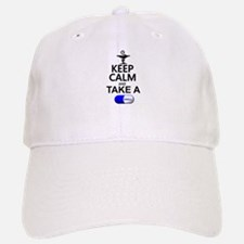 Keep Calm and Take a Chill Pill Baseball Baseball Cap