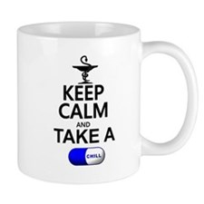 Keep Calm and Take a Chill Pill Mug