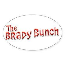 Retro Brady Bunch Logo Decal