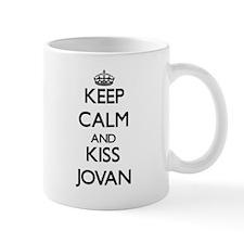 Keep Calm and Kiss Jovan Mugs