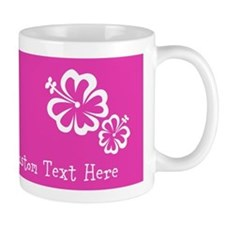 Bright Colorful Pink Neon Custom Text Mug