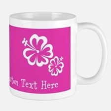 Bright Colorful Pink Neon Custom Text Small Small Mug