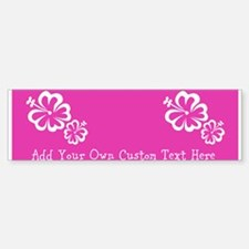 Bright Colorful Pink Neon Custom Car Car Sticker