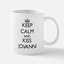 Keep Calm and Kiss Jovanni Mugs