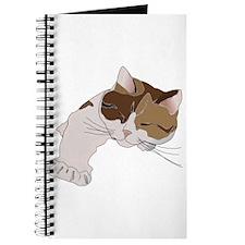 Calico Cat Sleeping Journal