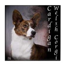Cardigan Welsh Corgi Tile Coaster