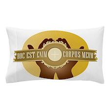 Corpus Meum Pillow Case