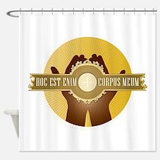 Corpus Meum Shower Curtain