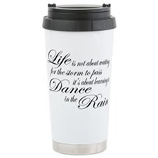 Dancing in the Rain Travel Mug