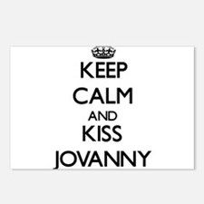 Keep Calm and Kiss Jovanny Postcards (Package of 8