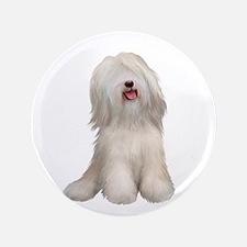 "Tibetan Terrier (W) 3.5"" Button"