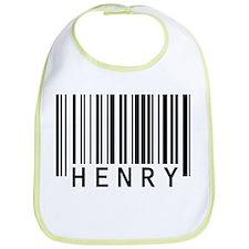 Henry Barcode Baby Bib