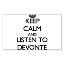 Keep Calm and Listen to Devonte Decal