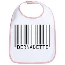 Bernadette Barcode Baby Bib