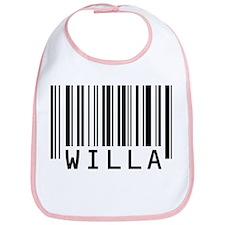 Willa Barcode Baby Bib