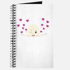 Cute Baby Winking Peekaboo Journal