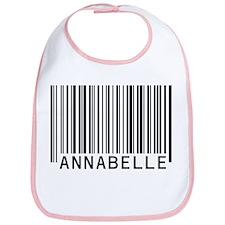 Annabelle Barcode Baby Bib