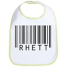 Rhett Barcode Baby Bib