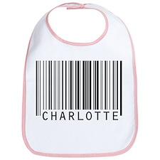 Charlotte Barcode Baby Bib