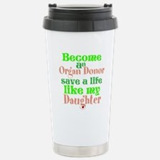 Personalize , Save A Li Stainless Steel Travel Mug
