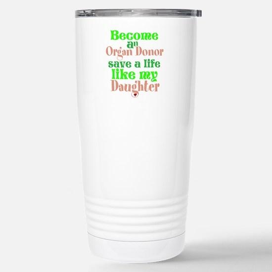 Personalize , Save A Li Stainless Steel Travel Mug