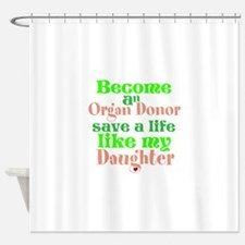 Personalize , Save A Life Shower Curtain
