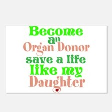 Personalize , Save A Life Postcards (Package of 8)