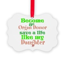 Personalize , Save A Life Ornament