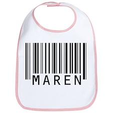 Maren Barcode Baby Bib