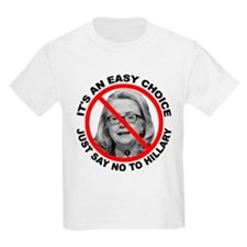 Say No to Hillary Clinton T-Shirt