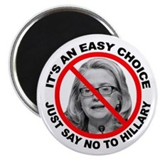 Say No to Hillary Clinton Magnet