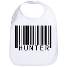 Hunter Barcode Baby Bib