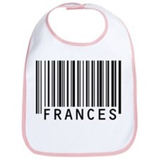 Frances Barcode Baby Bib