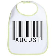 August Barcode Baby Bib