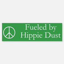 Fueled by Hippie Dust Bumper Car Car Sticker
