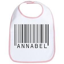 Annabel Barcode Baby Bib