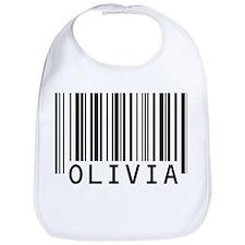 Olivia Barcode Baby Bib