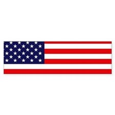 American Flag Bumper Bumper Stickers